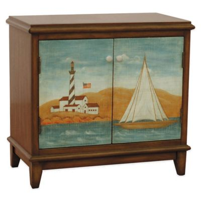Pulaski Nautical Sunset Hatteras Accent Chest