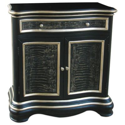 Pulaski Oliveri Hall Chest in Black Finish