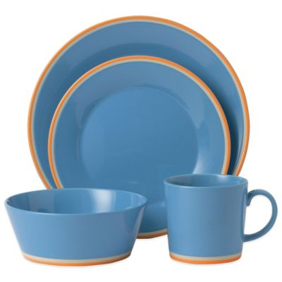 Royal Doulton® Colors 4-Piece Place Setting in Blue