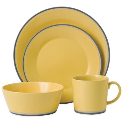 Royal Doulton® Colors 4-Piece Place Setting in Yellow