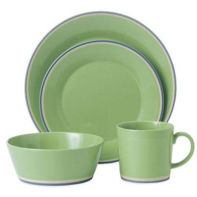 Royal Doulton® Colors 4-Piece Place Setting in Green