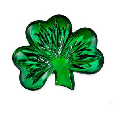 Waterford® Shamrock Collectible in Green