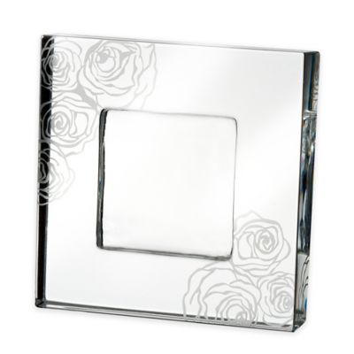 Monique Lhuillier Waterford® Sunday Roses 2-Inch x 2-Inch Picture Frame