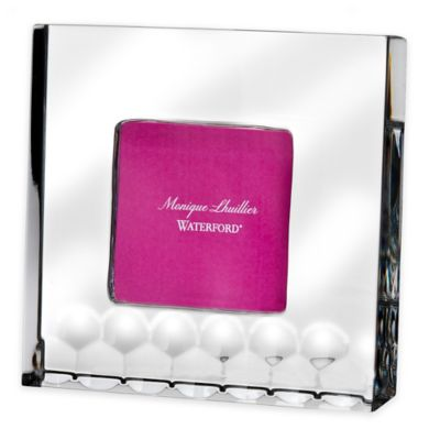 Monique Lhuillier Waterford® Atelier 2-Inch x 2-Inch Picture Frame