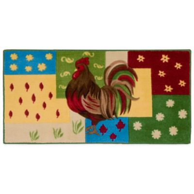 Roosters Area Rug