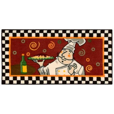 Kitchen Rugs with Chefs