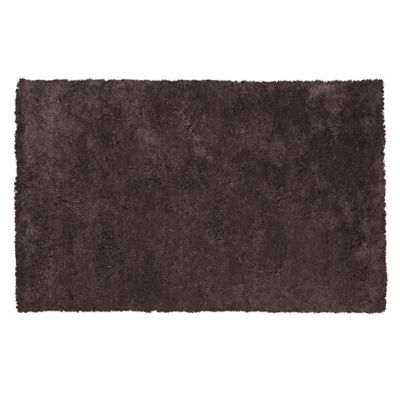 KAS Bliss 7-Foot 6-Inch x 9-Foot 6-Inch Shag Area Rug in Espresso