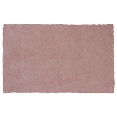 KAS Bliss 5-Foot x 7-Foot Area Rug in Rose Pink
