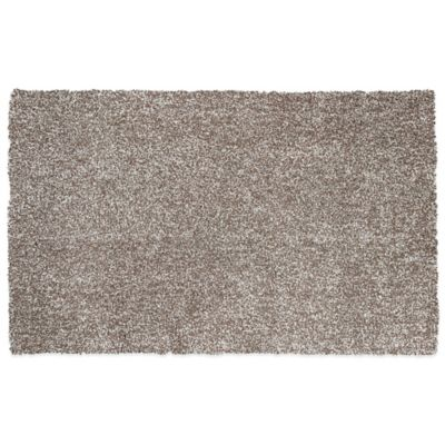 KAS Bliss 7-Foot 6-Inch x 9-Foot 6-Inch Area Rug in Beige Heather