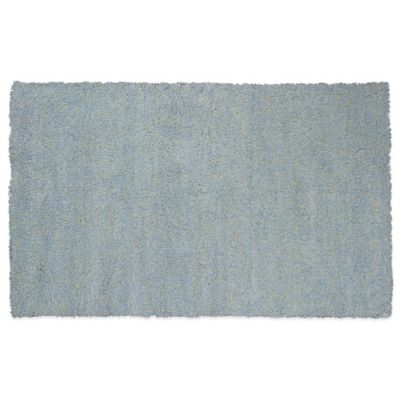KAS Bliss 3-Foot 3-Inch x 5-Foot 3-Inch Area Rug in Blue Heather