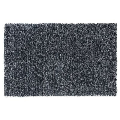 KAS Bliss 7-Foot 6-Inch x 9-Foot 6-Inch Area Rug in Black Heather