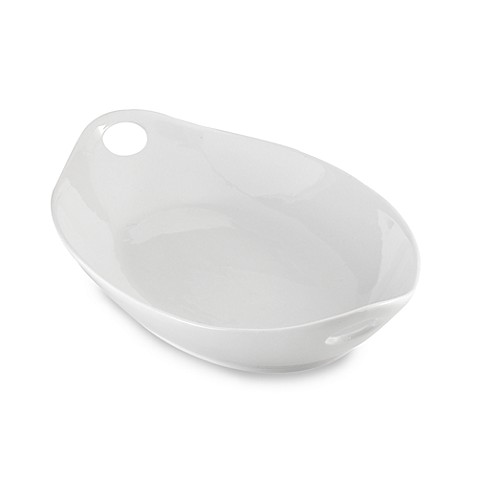 Serving Platter with Oval Handles <BR>