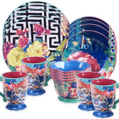 Tracy Porter® Poetic Wanderlust® Reverie 16-Piece Dinnerware Set