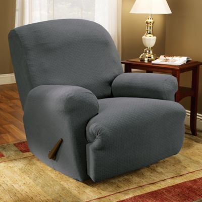 Grey Recliner Slipcover