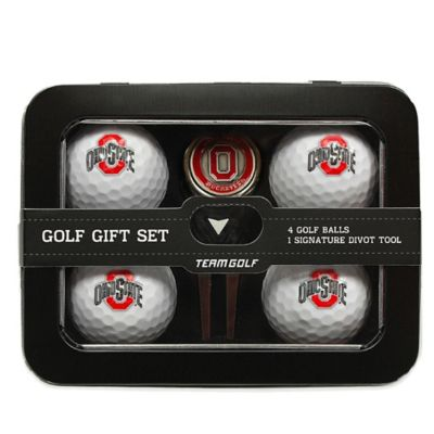 Ohio State University 5-Piece Golf Ball and Divot Tool Set