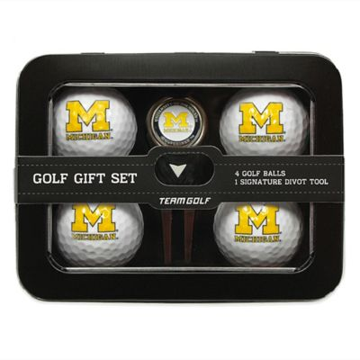 University of Michigan 5-Piece Golf Ball and Divot Tool Set