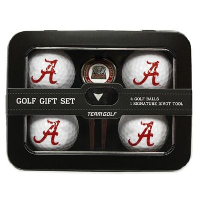 University of Alabama 5-Piece Golf Ball and Divot Tool Set