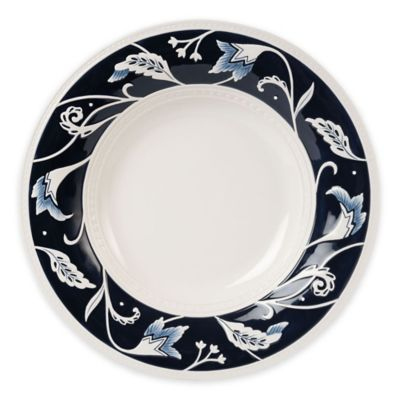 Fitz and Floyd® Bristol Indigo Floral Serving Bowl