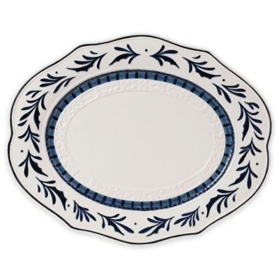Fitz and Floyd® Bristol Indigo Serving Platter