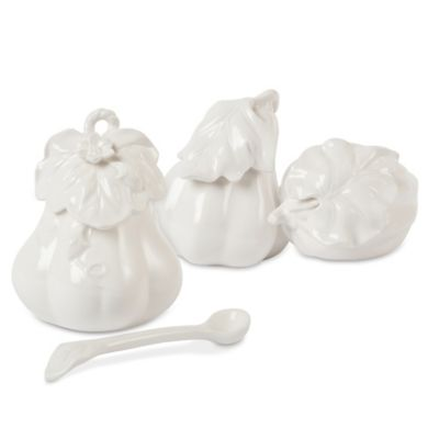 Fitz and Floyd® Bristol Gourd Condiment Jar and Salt and Pepper Shakers