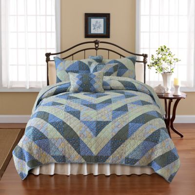 Nostalgia Home™ Reversible Dylan Twin Quilt