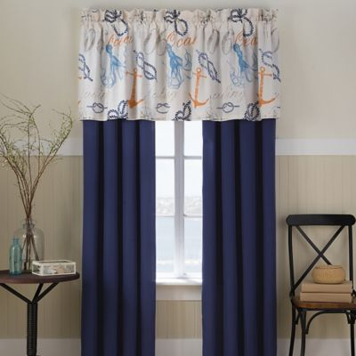 Nautical Window Valance