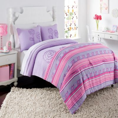 Lavender Twin Quilts