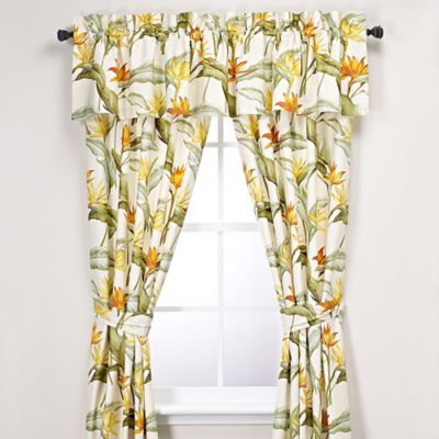Tommy Bahama® Birds of Paradise 84-Inch Window Panel Pair