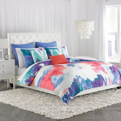 Amy Sia Painterly Twin Duvet Cover
