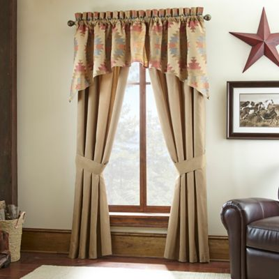 Canyon River 84-Inch Tailored Window Valance