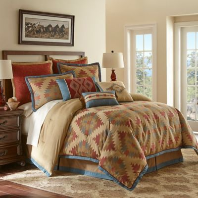 Canyon River Queen Comforter Set in Multi
