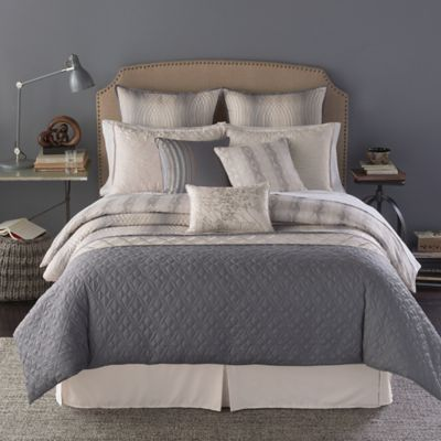 Bryan Keith Sahara 9-Piece King Reversible Comforter Set in Sand