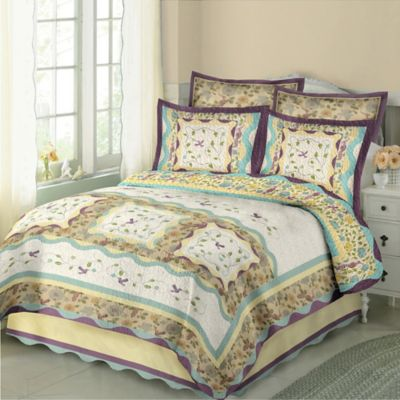 Hummingbird King Quilt Set