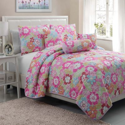 Cali Twin Quilt Set