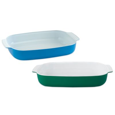Light Grey Baking Dishes