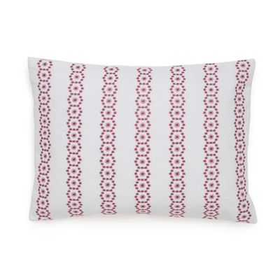 Under The Canopy® Adventurer Organic Cotton Oblong Throw Pillow in Rose