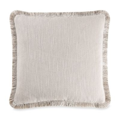 Costus Square Throw Pillow in Natural