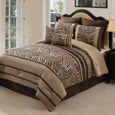 Brown Queen Comforter