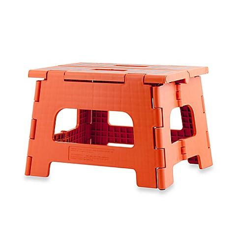Buy Kikkerland 174 Design Rhino Ii Folding Step Stool In Red