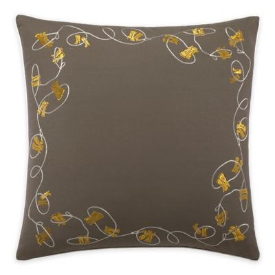 Lady Antebellum Heartland™ American Honey Square Throw Pillow in Grey