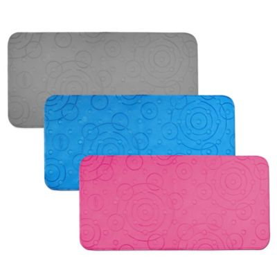Graco® Comfy Cushioned Bath Mat in Grey