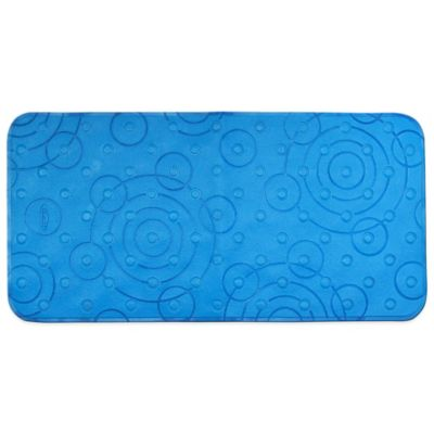 Graco® Comfy Cushioned Bath Mat in Blue