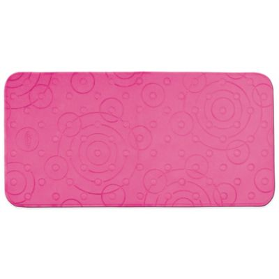 Graco® Comfy Cushioned Bath Mat in Pink
