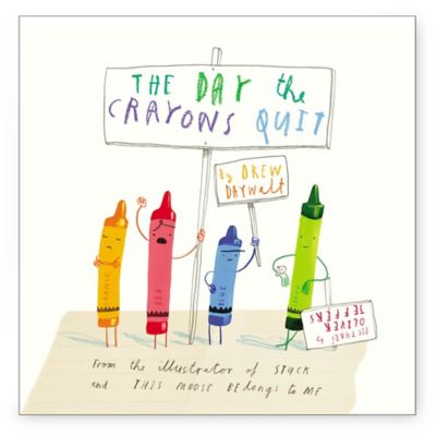 The Day the Crayons Quit by Drew Dayalt