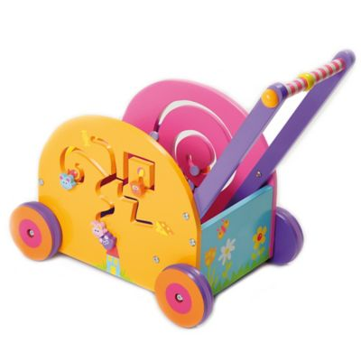 Boikido® Wooden Push & Play Mouse Wagon