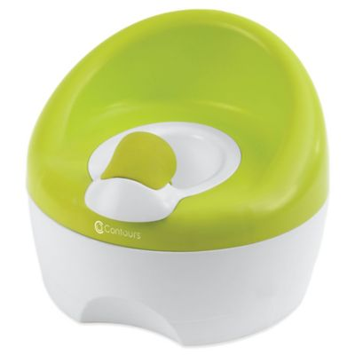 Contours® Bravo 3-in-1 Potty Trainer in Lime