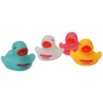 Scholastic for Baby 4-Pack Squeeze Ducks Set in Multicolor