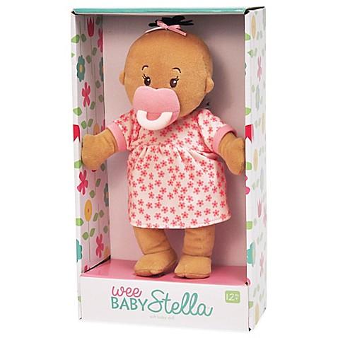 Buy Manhattan Toy Wee Baby Stella Beige Doll from Bed