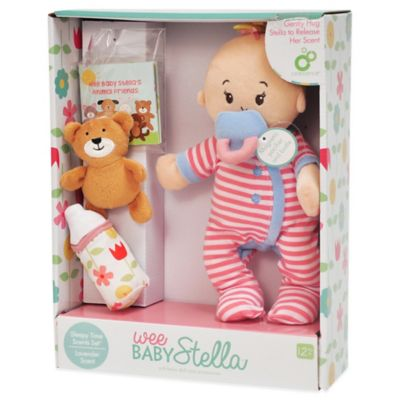 Manhattan Toy® Wee Baby Stella Sleepy Time Doll Set with Lavender Scent