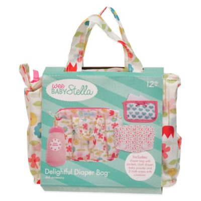 Manhattan Toy® Wee Baby Stella Delightful Diaper Bag
